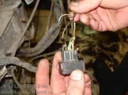 Opel Astra GT ремонт электро проводки.