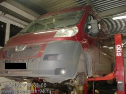 Peugeot Boxer замена масляного радиатора