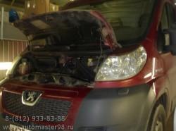 Peugeot Boxer замена клапана EGR