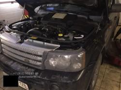 Замена генератора в Range Rover с двигателем 3.6TD v8 32v DOHC