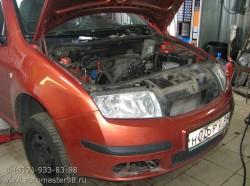 Skoda Fabia ремонт двигателя