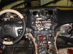 Toyota Highlander восстановление электро проводки