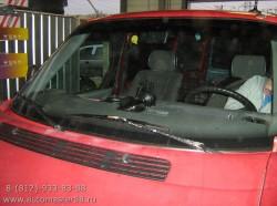 Volkswagen Transporter T4 замена лобового стекла